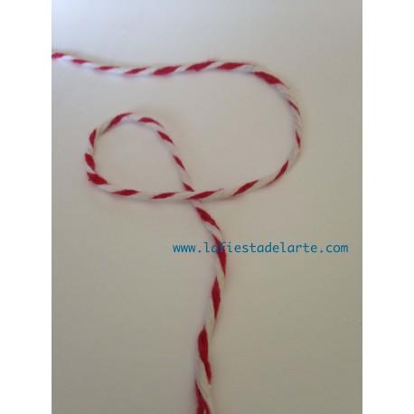 Cuerda de algod n trenzada dos colores lfda la fiesta - Cuerdas de colores ...