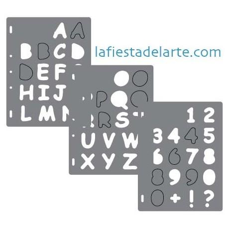 Plantillas Para Usar Con Shape Cutter De Fiskars Para Crear Letras