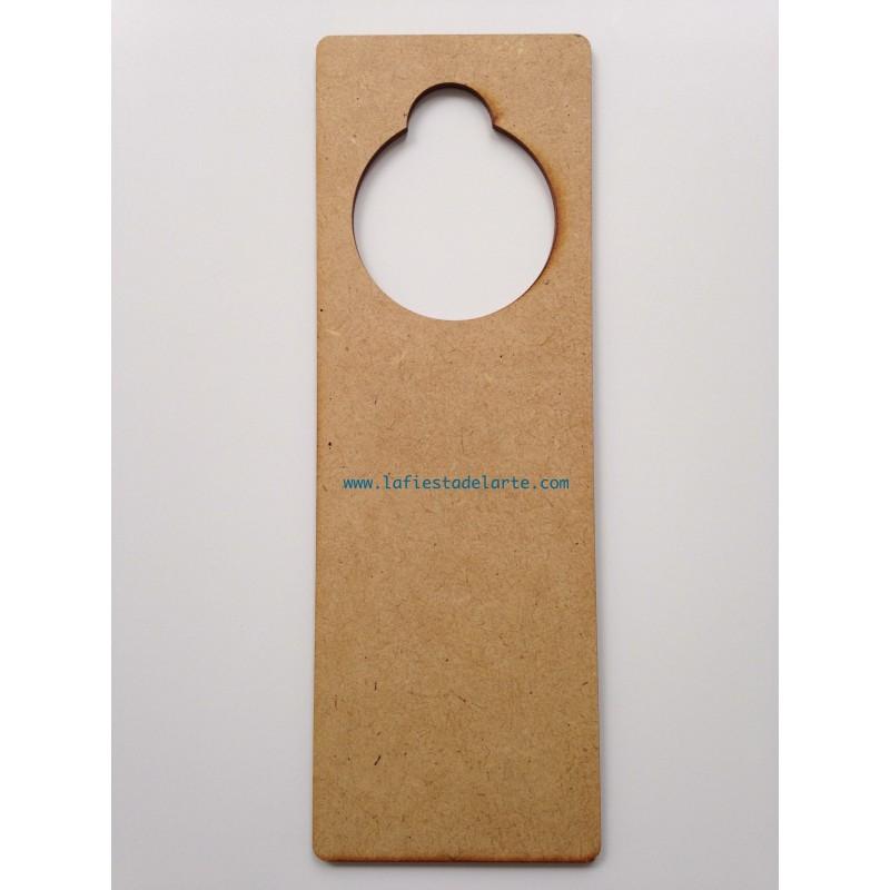 Colgador de madera para decorar puertas de la marca fitaller - Colgador de puerta ...